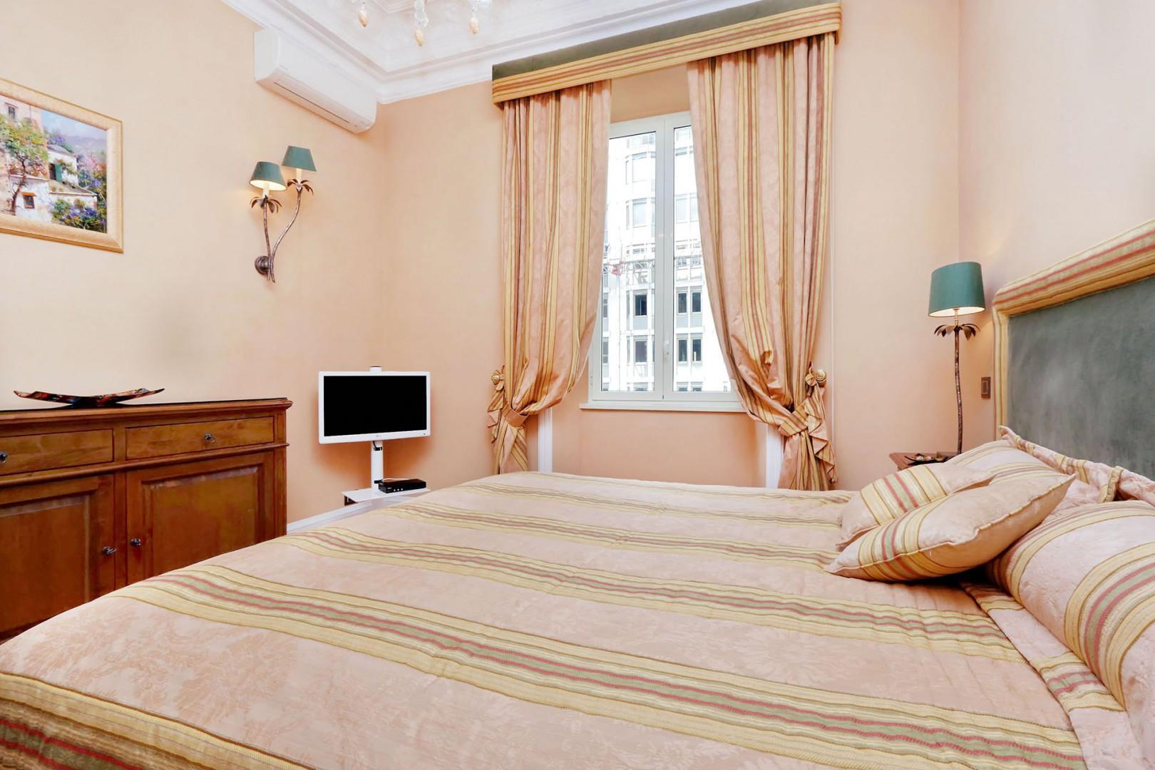 View towards the window in bedroom 2