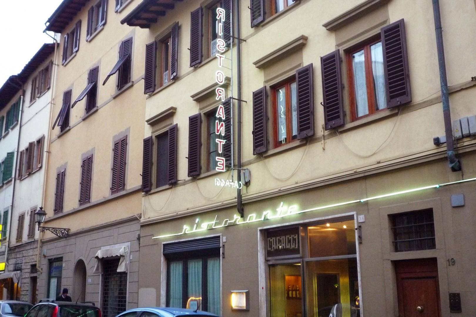 Down the block from the apartment is Ristorante Caffaggi, with Florentine specialties.