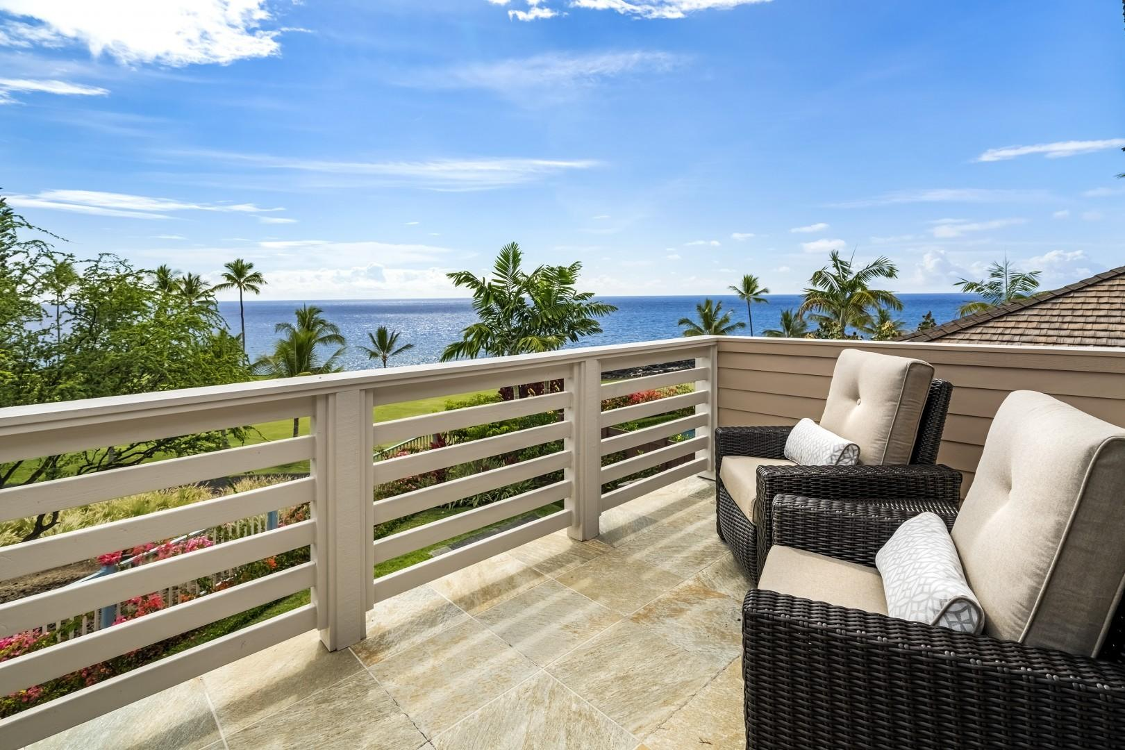 Master bedroom Lanai with gorgeous views!