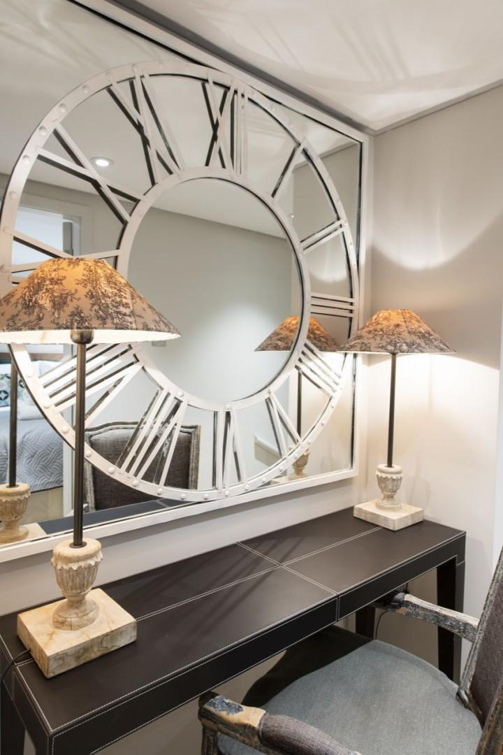 Wonderful accent pieces scattered around the apartment