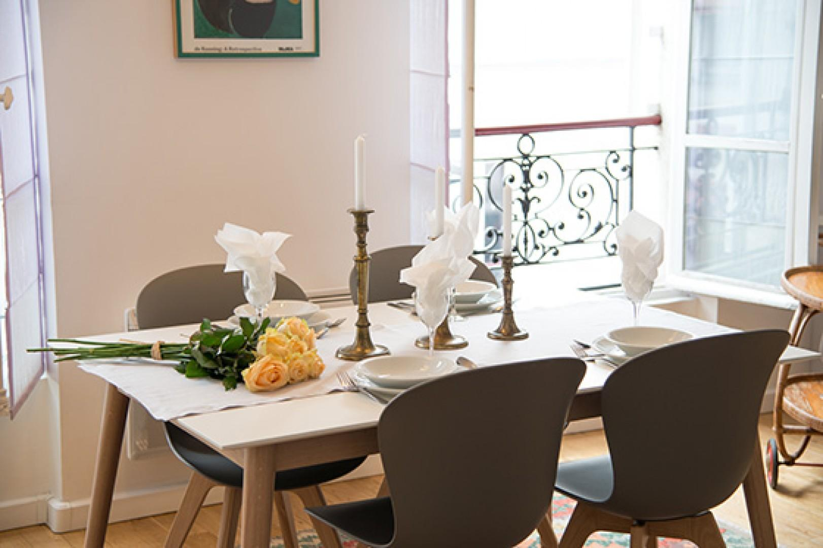 You will love hosting dinners in this beautiful space!