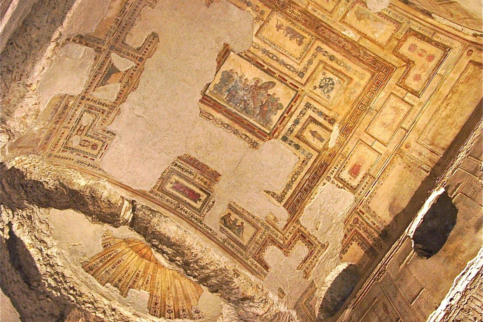 Reserve way in advance to enter in the Domus Aurea, the Golden House of Nero.