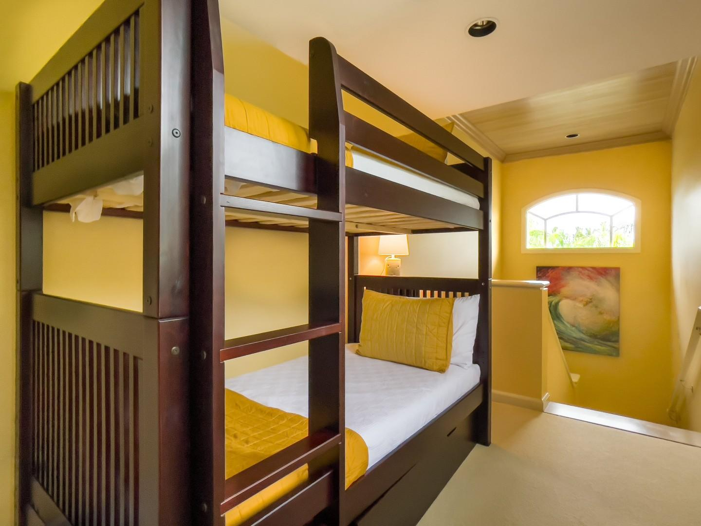 Bunkbed Nook at the Top of the Staircase Landing