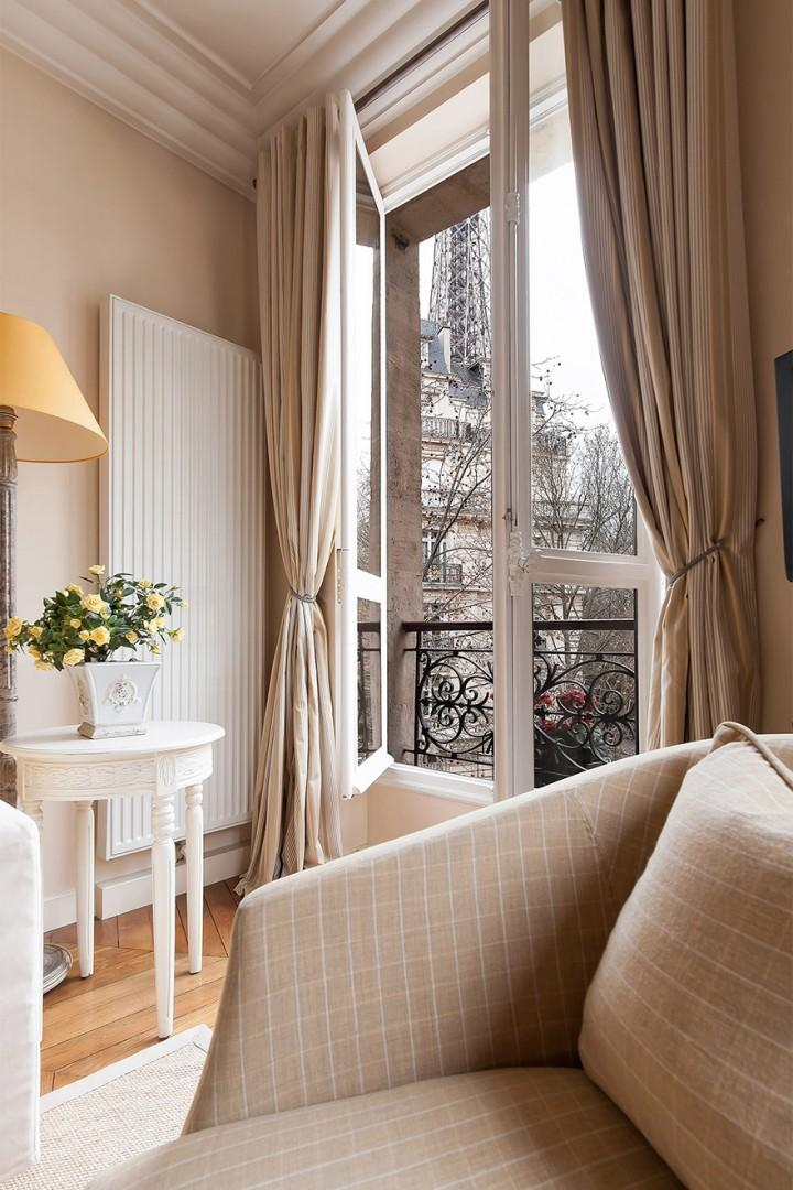You will love the French windows!