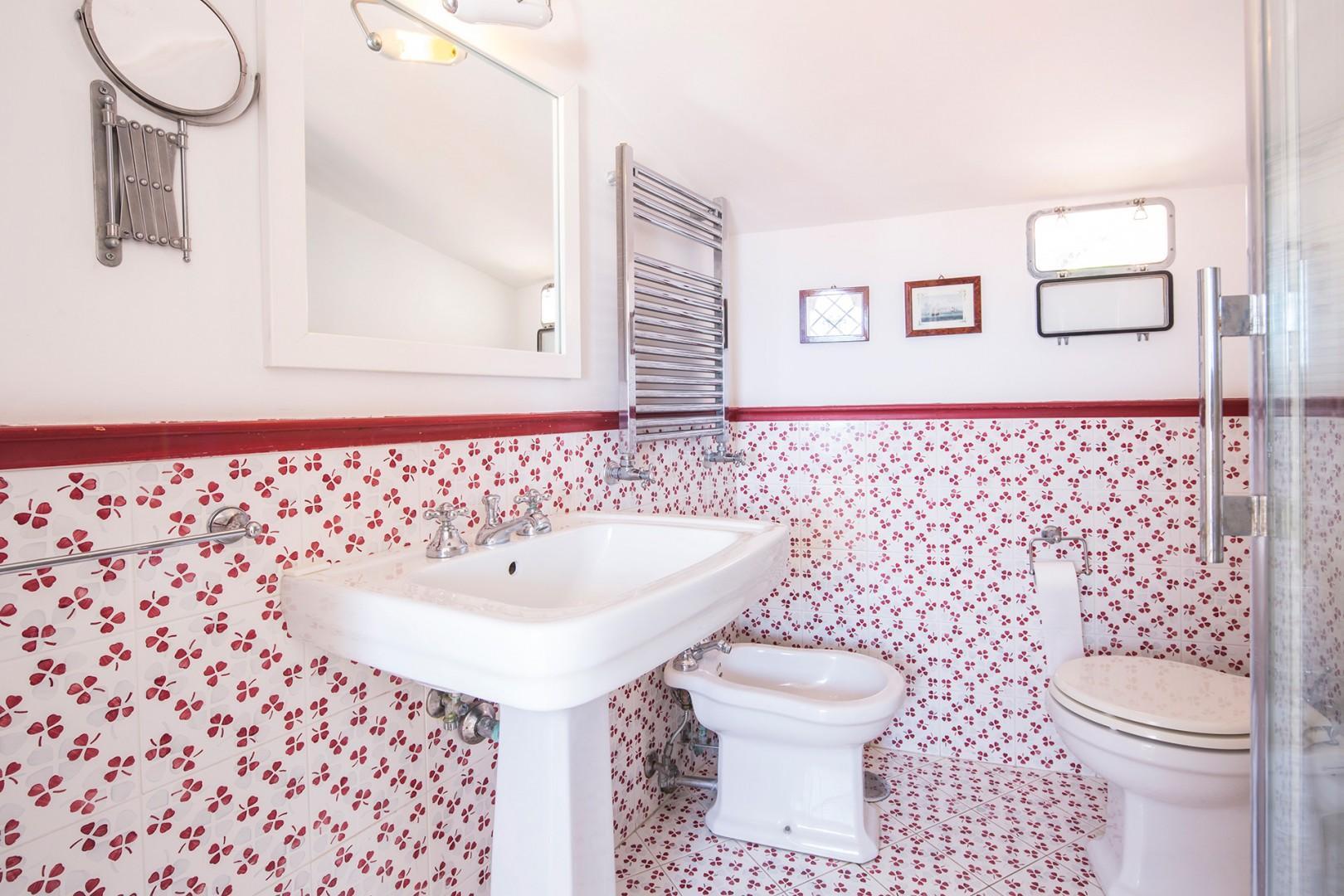 En suite bathroom with shower to bedroom 3.