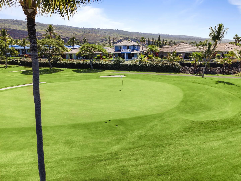 Kona County Club Golf Course views