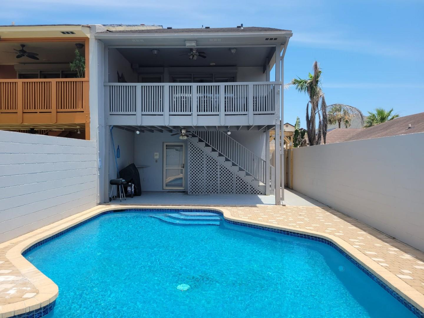 New! Stunning House w/ Pool & 1 Block from Beach!