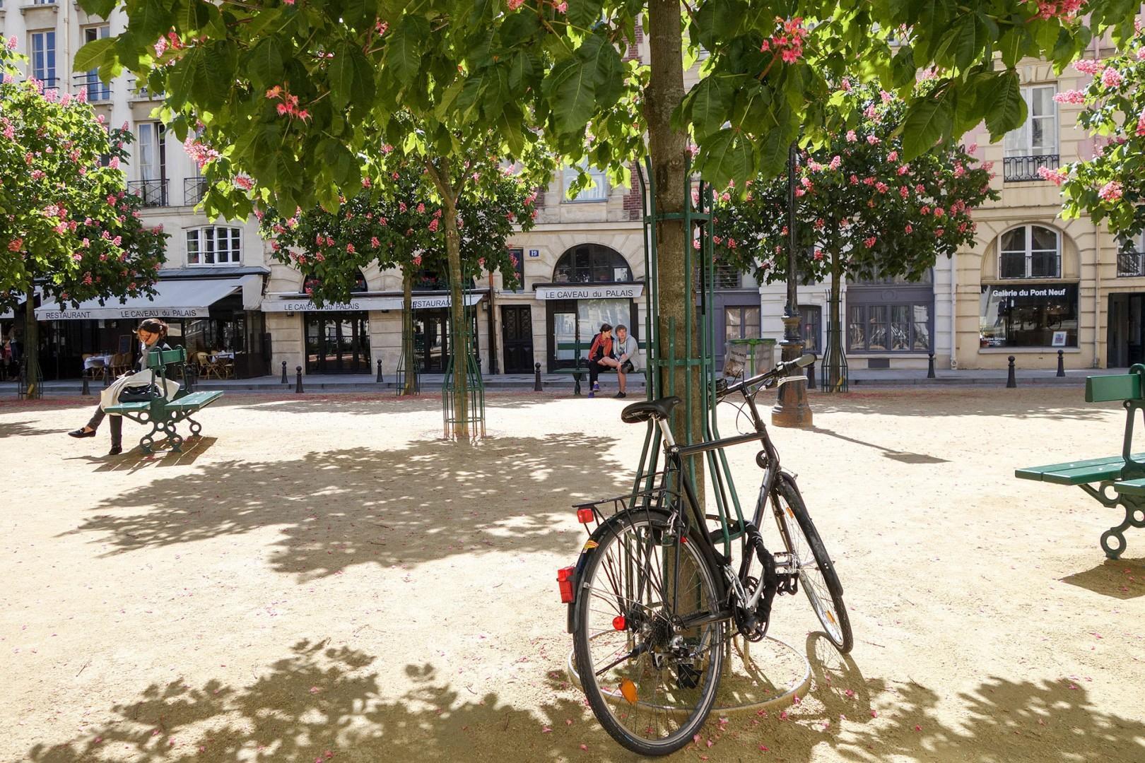 12-place-dauphine-bike-beneath-trees