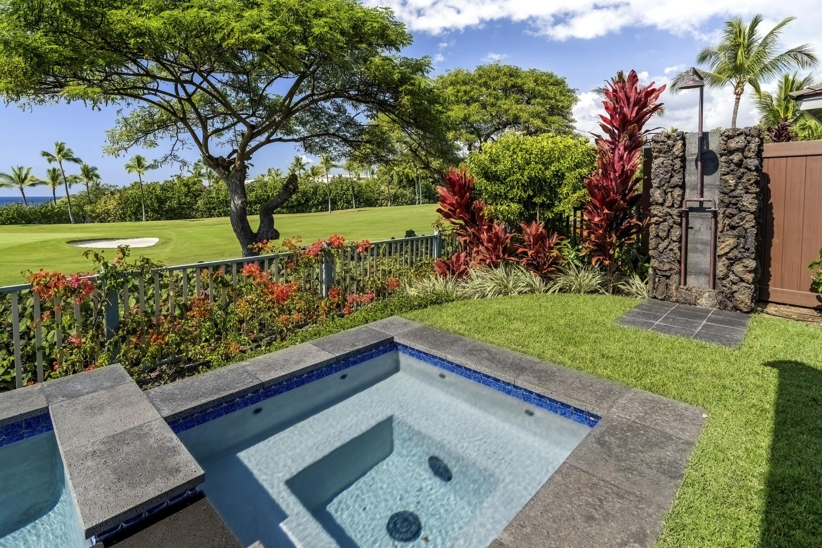 Private hot tub for your enjoyment!