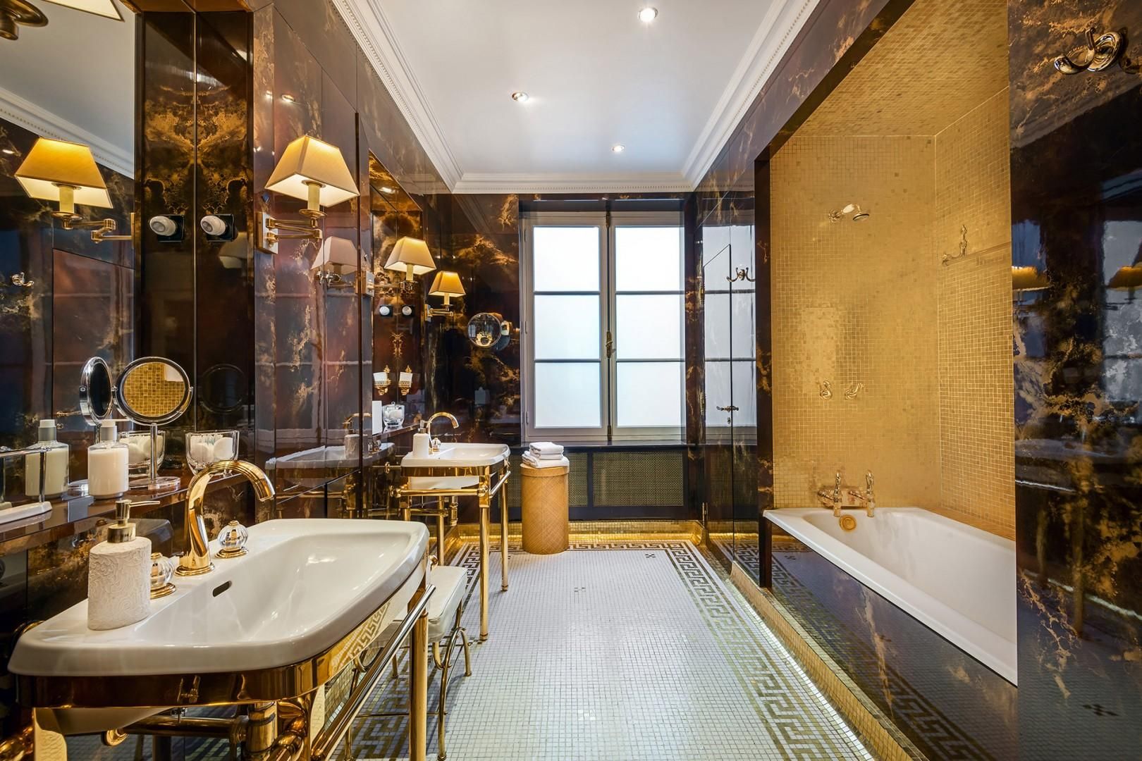 Bathroom 1 is fit for a king or queen!