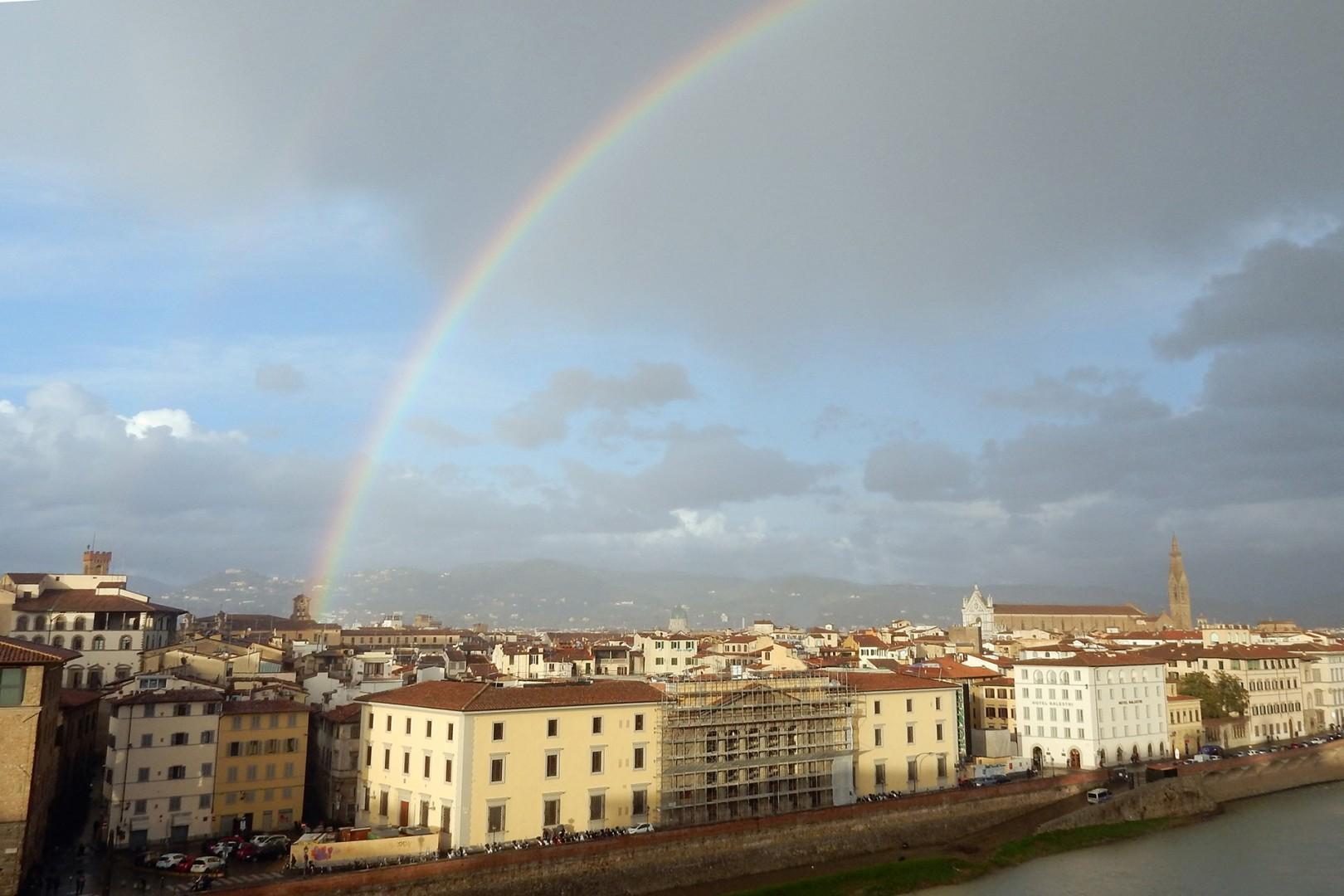 Enjoy sensational views of Florence.