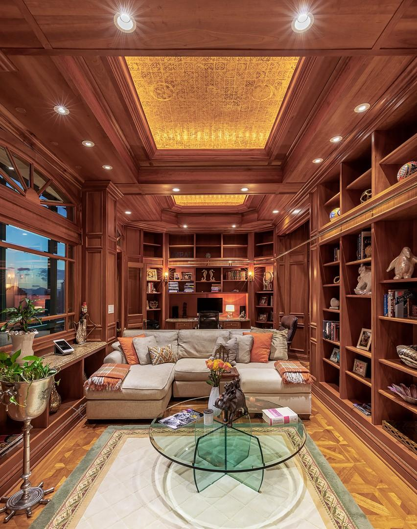 Classic Library/Theatre and Office Space with Bathroom