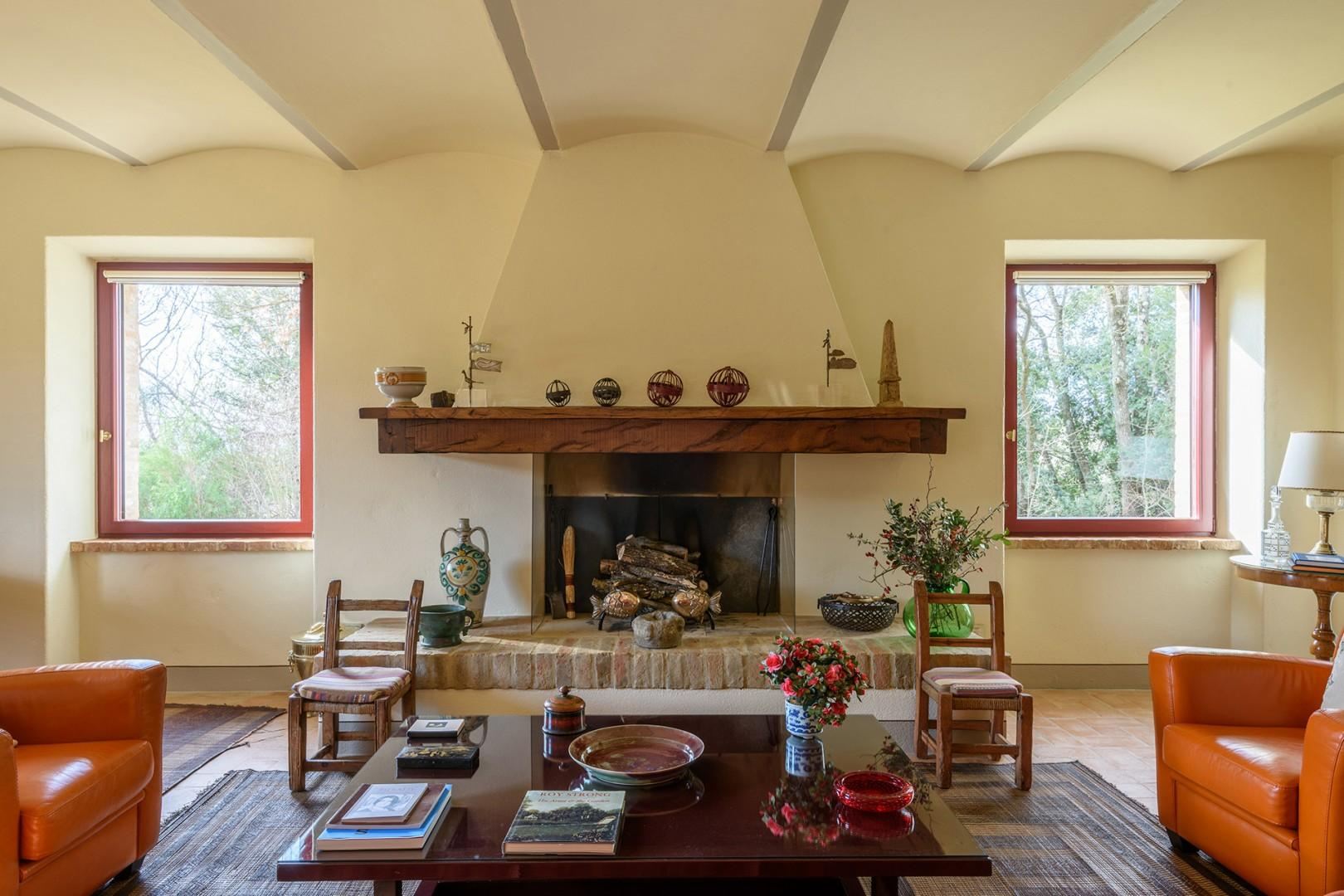 The house is great for a summer or winter stay, it is well heated and insulated.