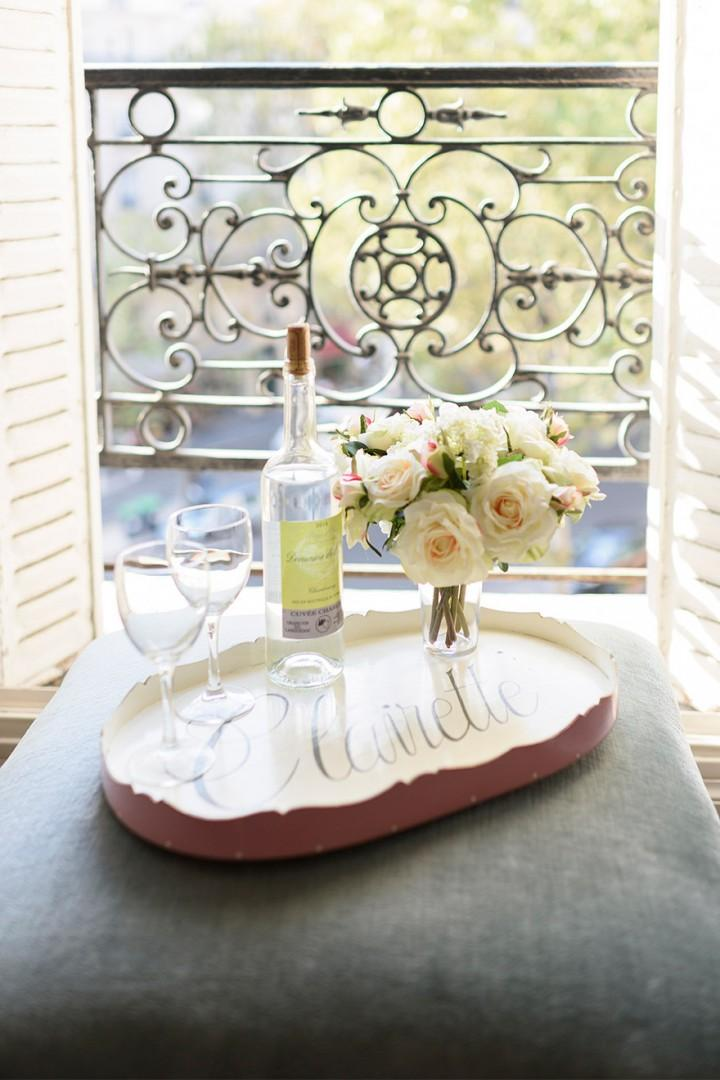 Open a glass of wine to celebrate your arrival!