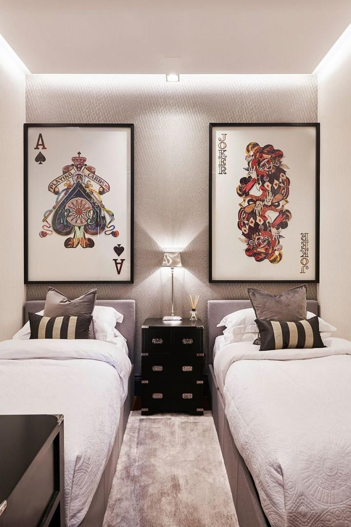 All bedrooms are carefully designed and decorated