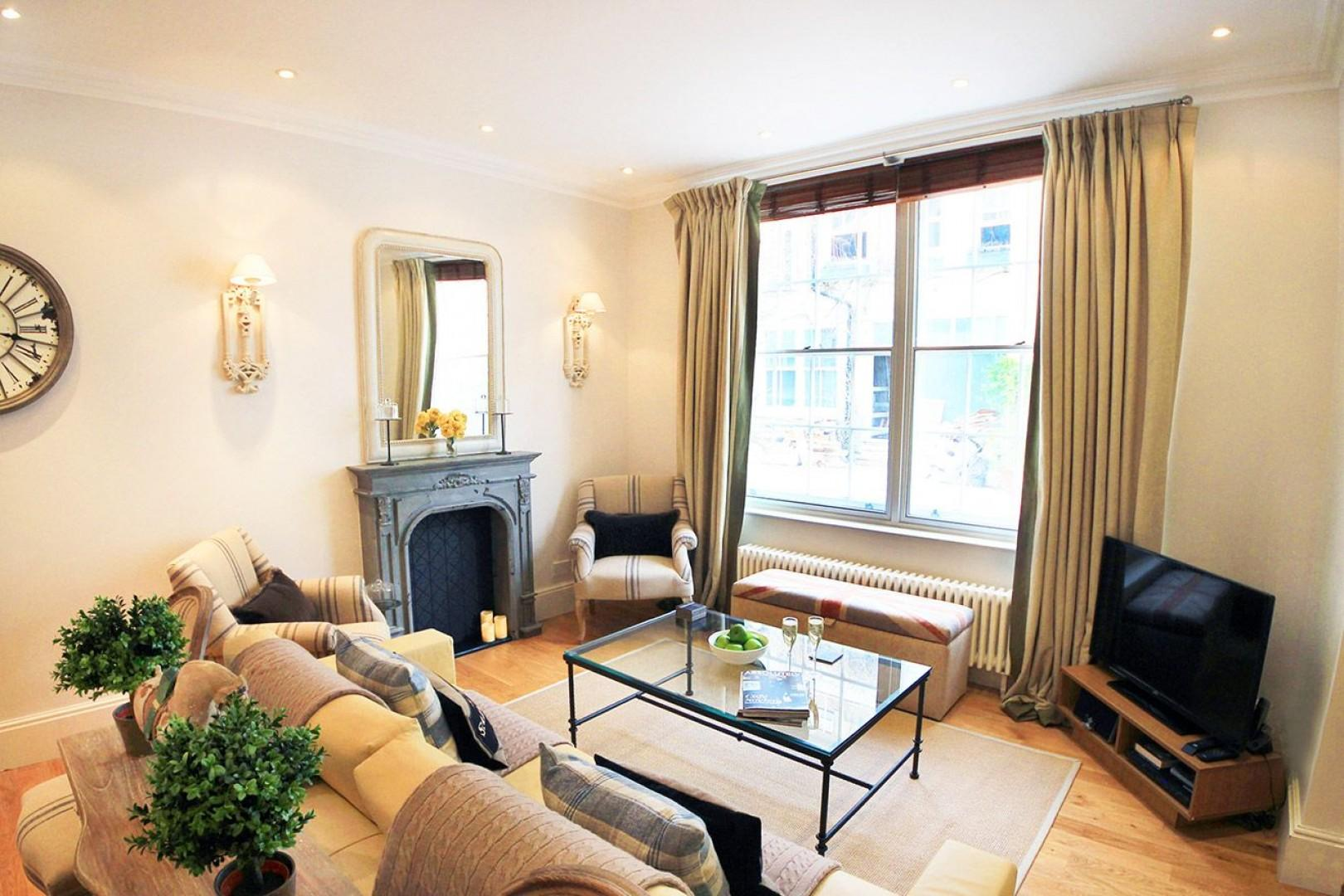Spend relaxing evenings at home during your stay in London