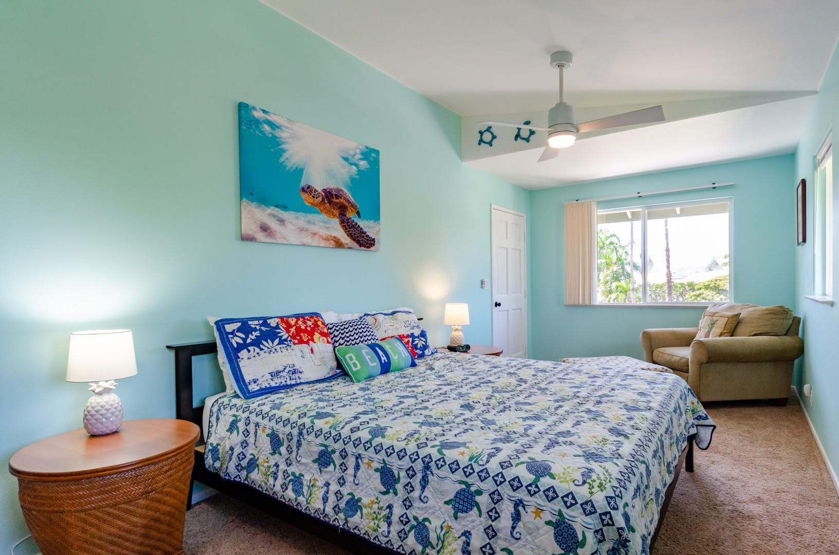 Tropical decor with tasteful touches