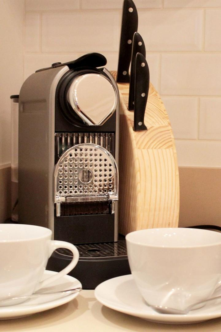 Start your day with coffee from the Nespresso