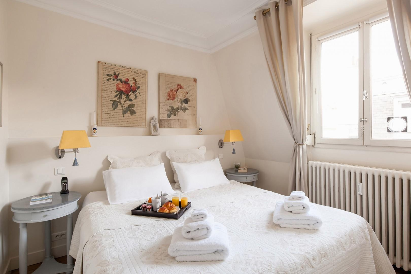 Make yourself at home in the lovely bedroom 2.