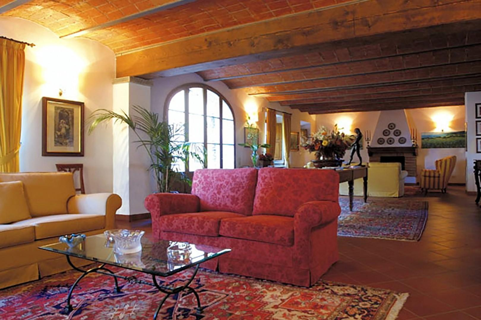 In the reception area there is a comfortable living room with a WiFi access point.
