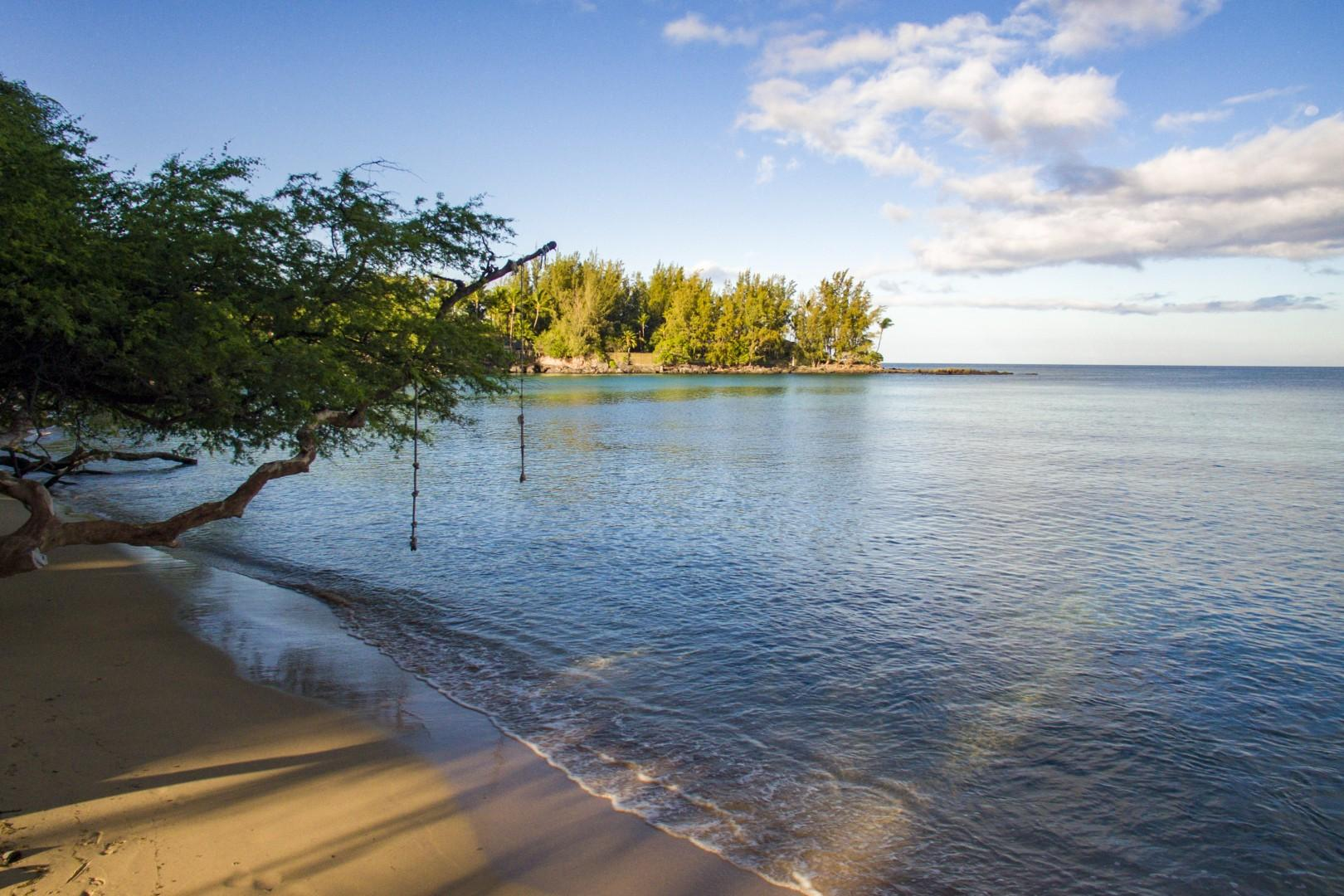 2. Wailea Bay, also known as Beach 69's is steps away from Hui Pu