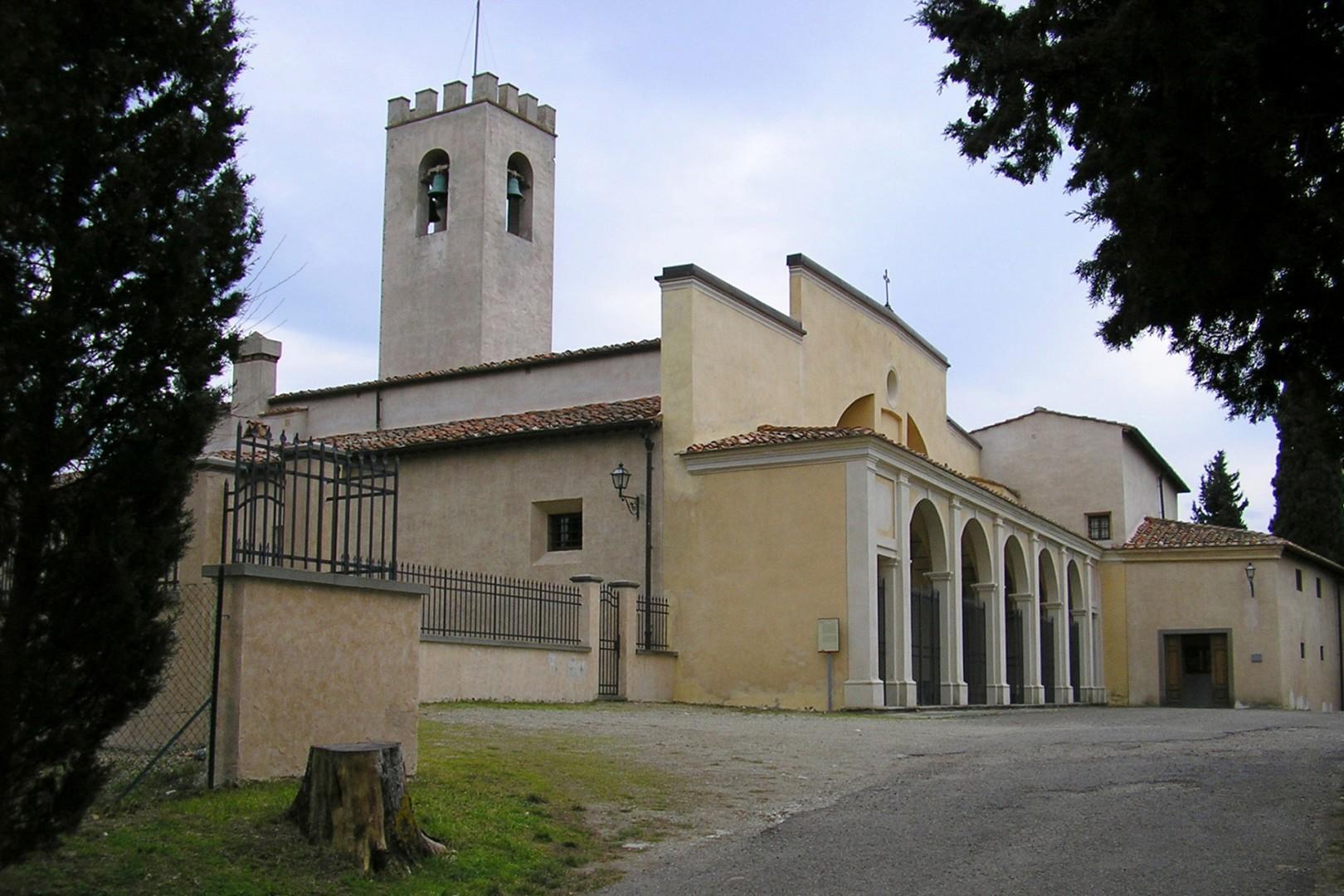 The monastery of Santa Maria in San Cristoforo, in Rignano sull'Arno, was built in the 11th century.