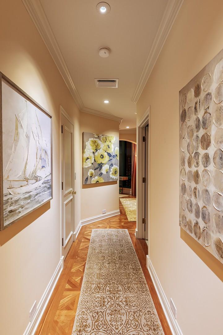 Artwork Framed Hallway