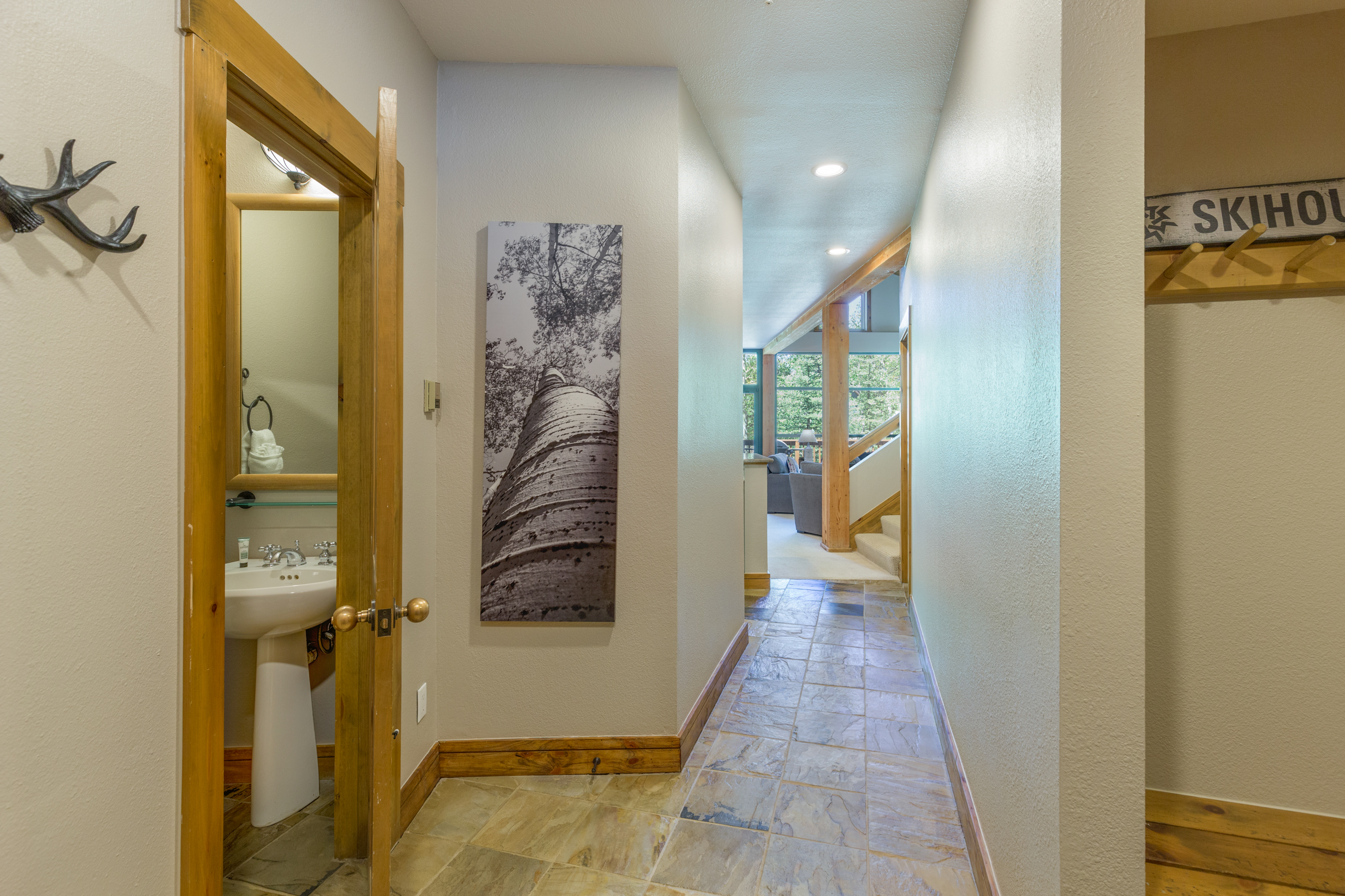 Entryway, Half Bathroom