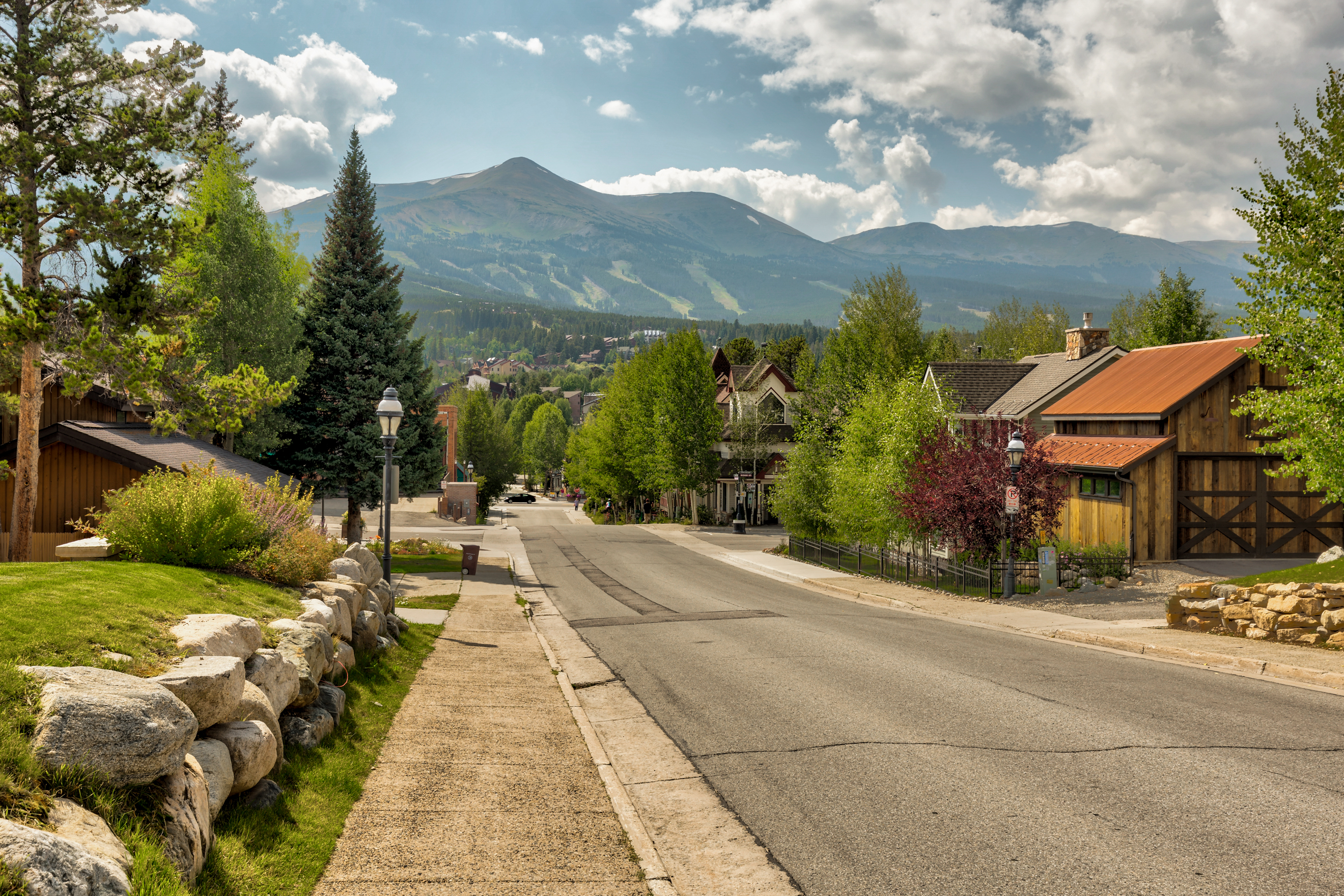French Street in Breckenridge