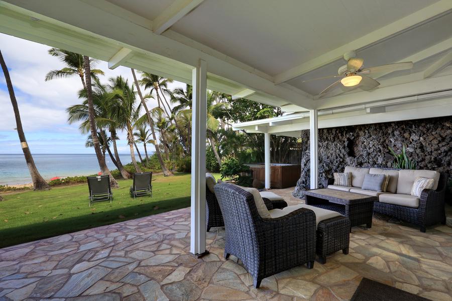Fabulous Private Maui Beachfront Vacation Home Rental In Kihei Hawaii Home Remodeling Inspirations Propsscottssportslandcom