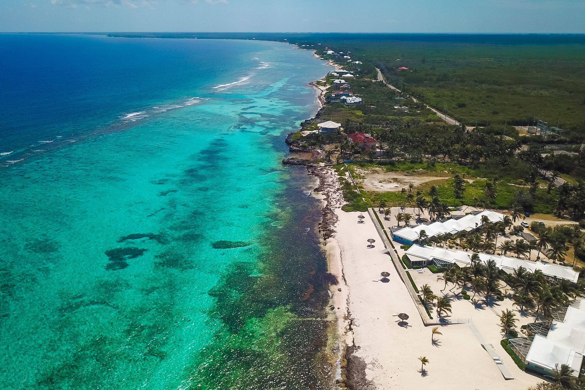 Fantastic Sea Lodges Aerial View