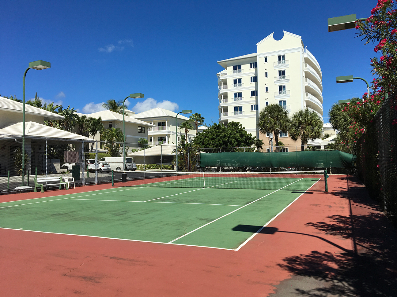 Casa Caribe Lighted Tennis Courts