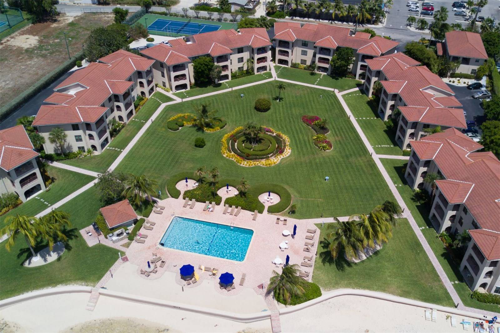 Georgetown Villas Aerial