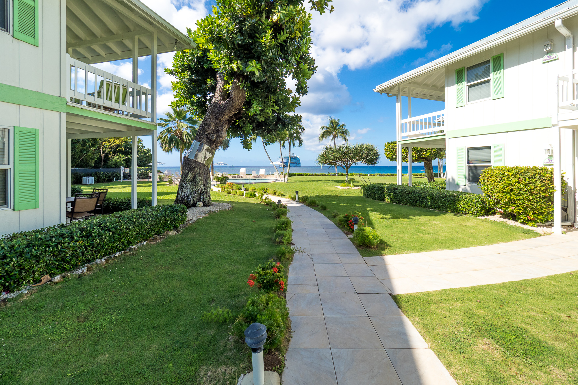 Walkway to Pool & Beach