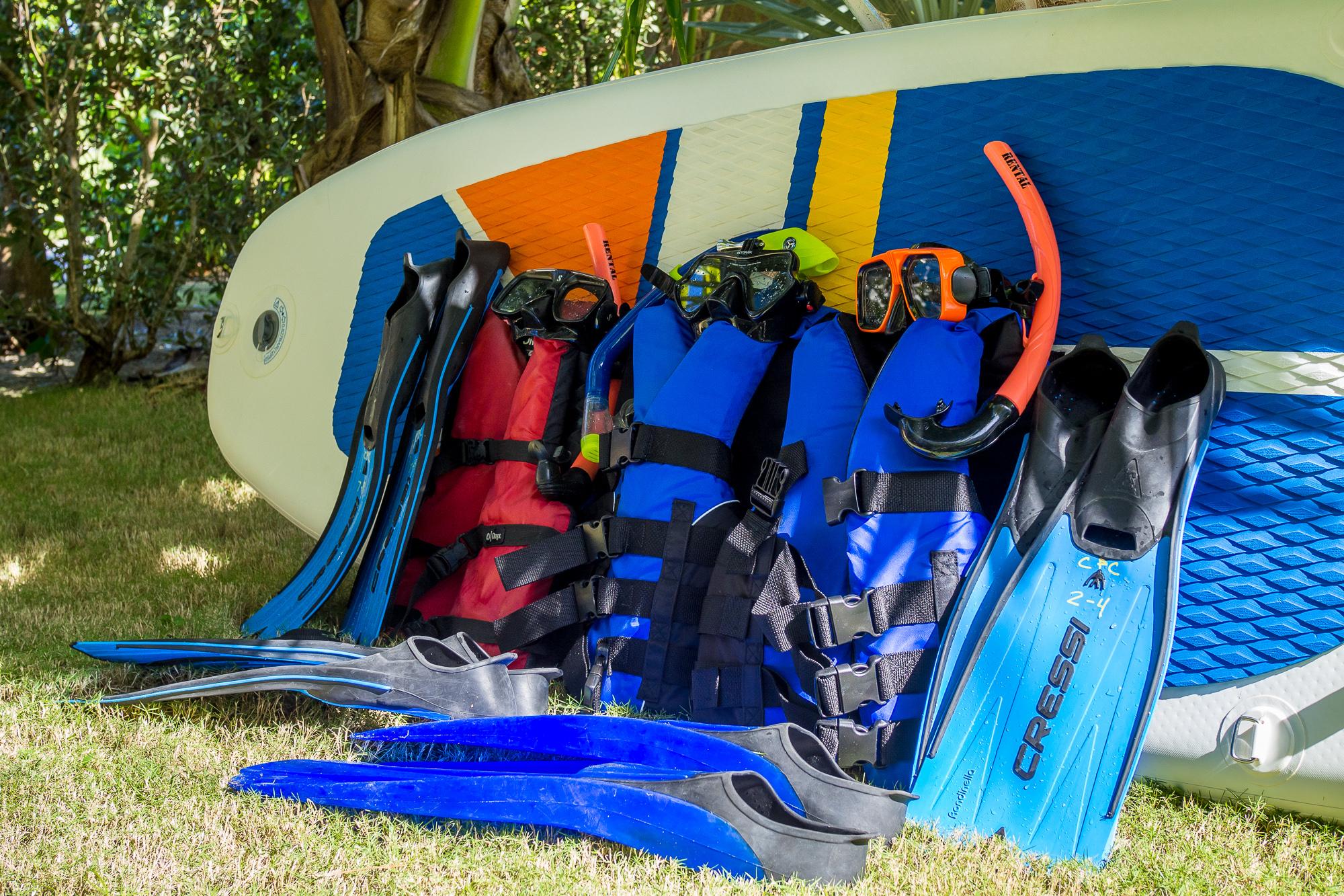 Complimentary Snorkel Gear & Jackets