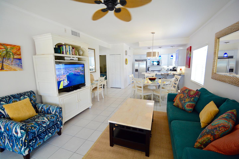 Regal Beach Club #523 Living Area