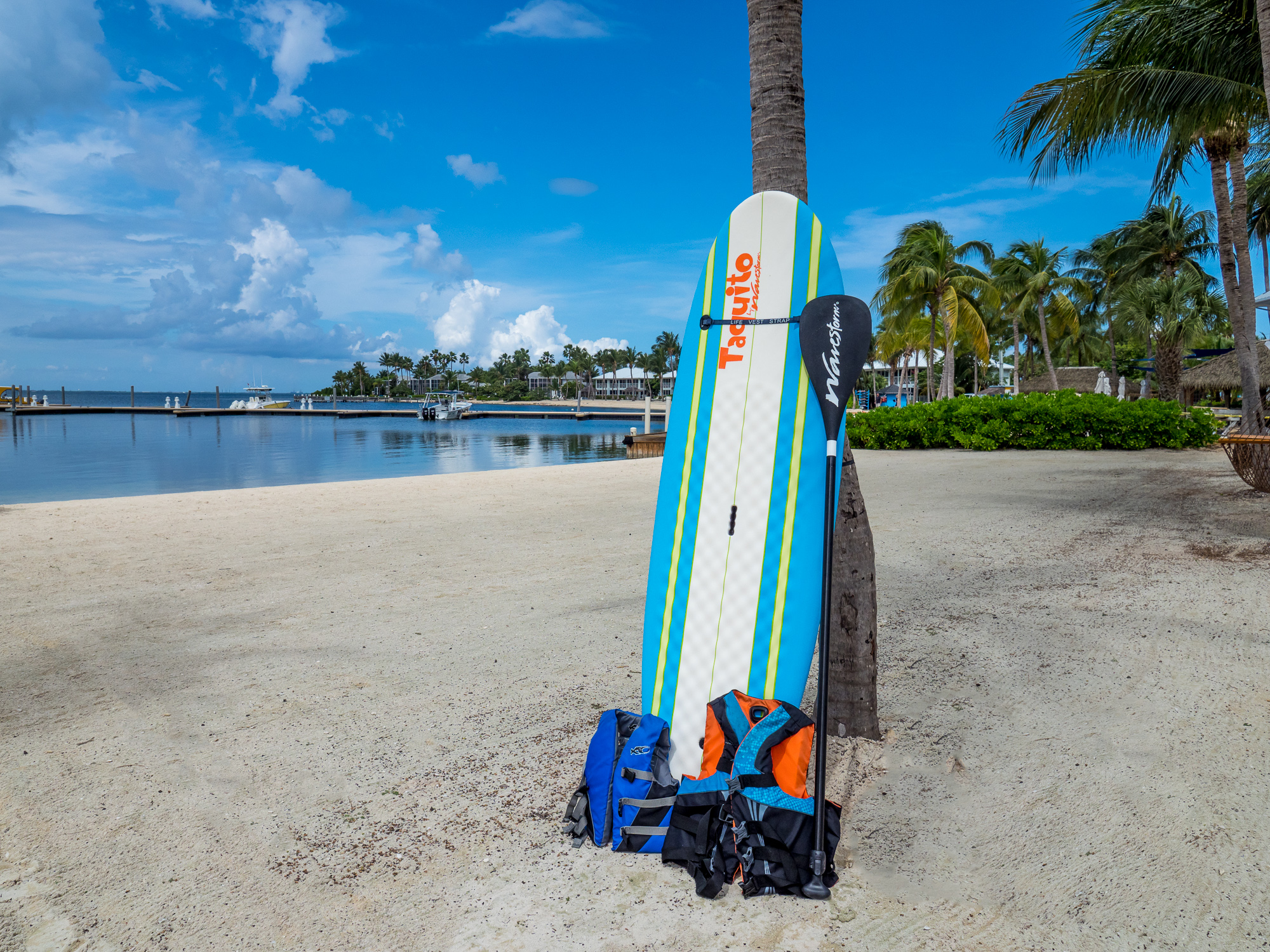 Complimentary Stand Up Paddle Board