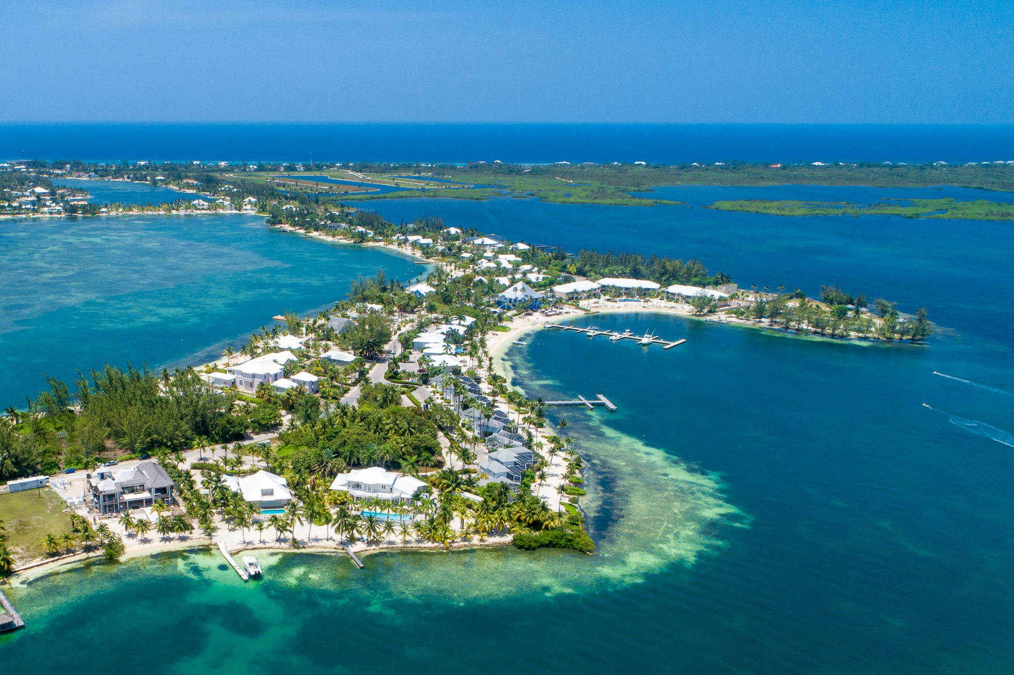 Rum Point Aerial View