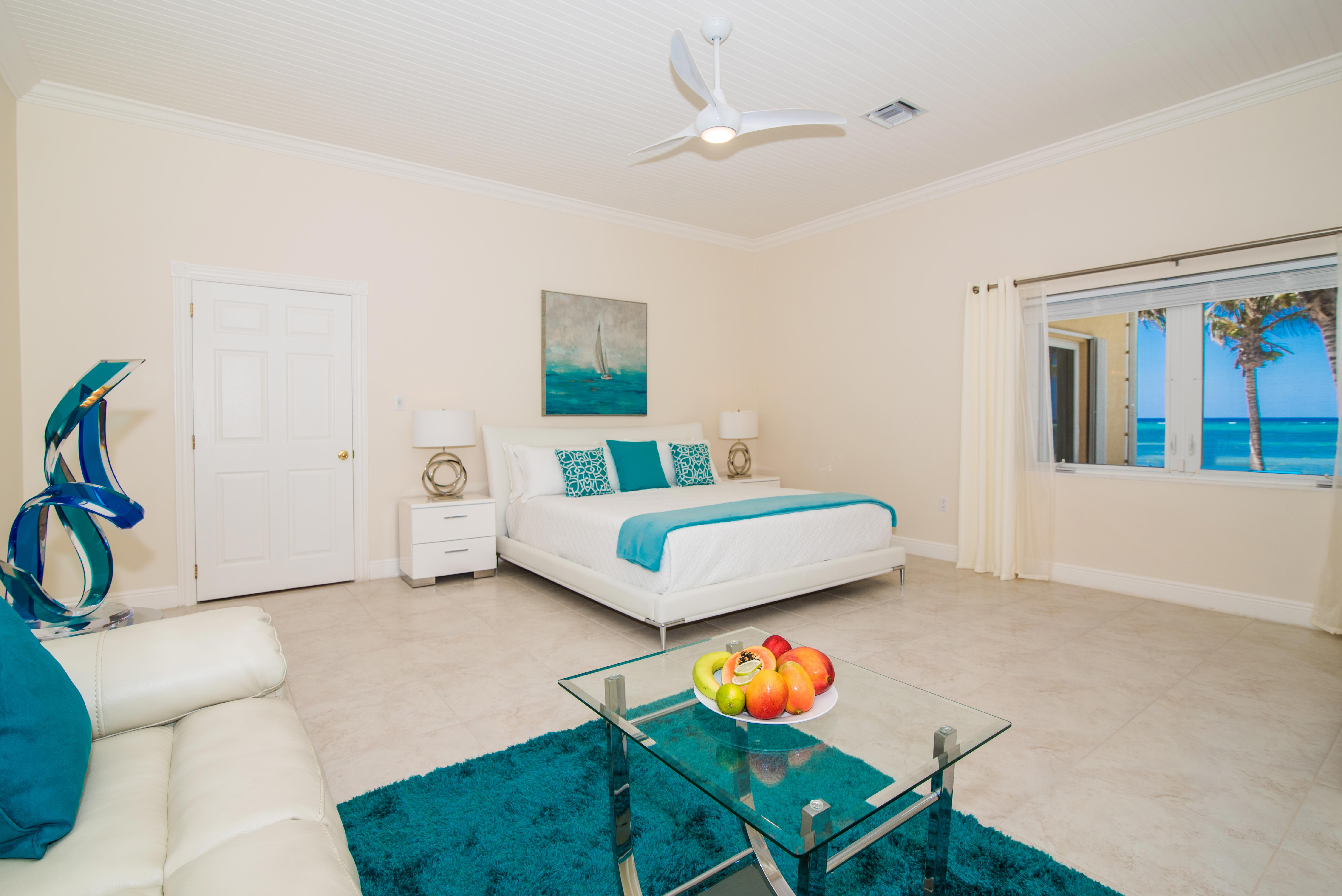 One of 6 Master Suites at Sprat Bay