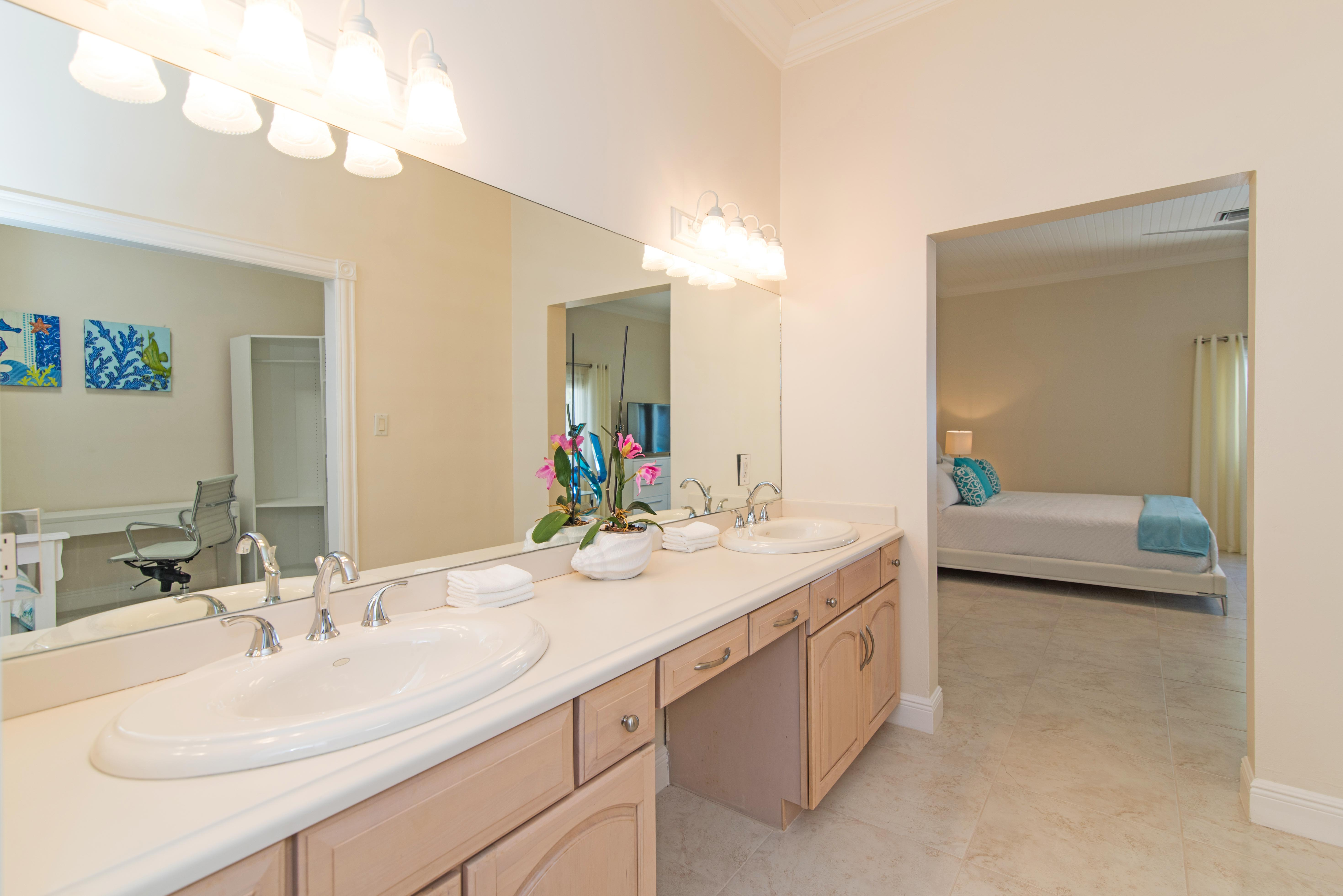 One of 6 Bathrooms at Sprat Bay
