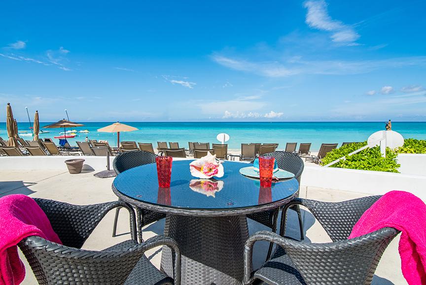 Regal Beach Club Deck & Tables