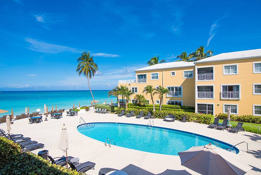 Regal Beach Club 122 View of Pool