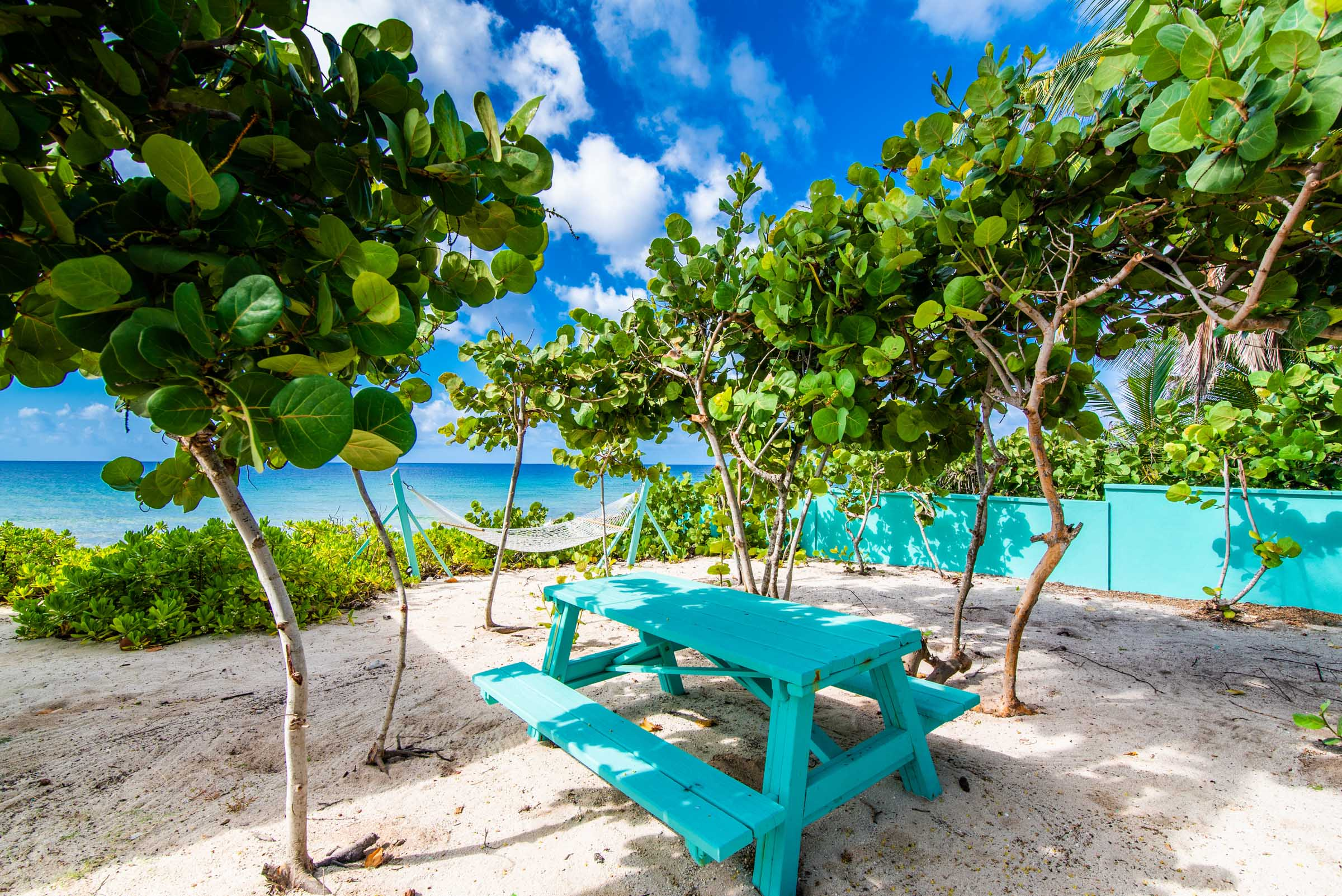 Oceanfront PicNic Table
