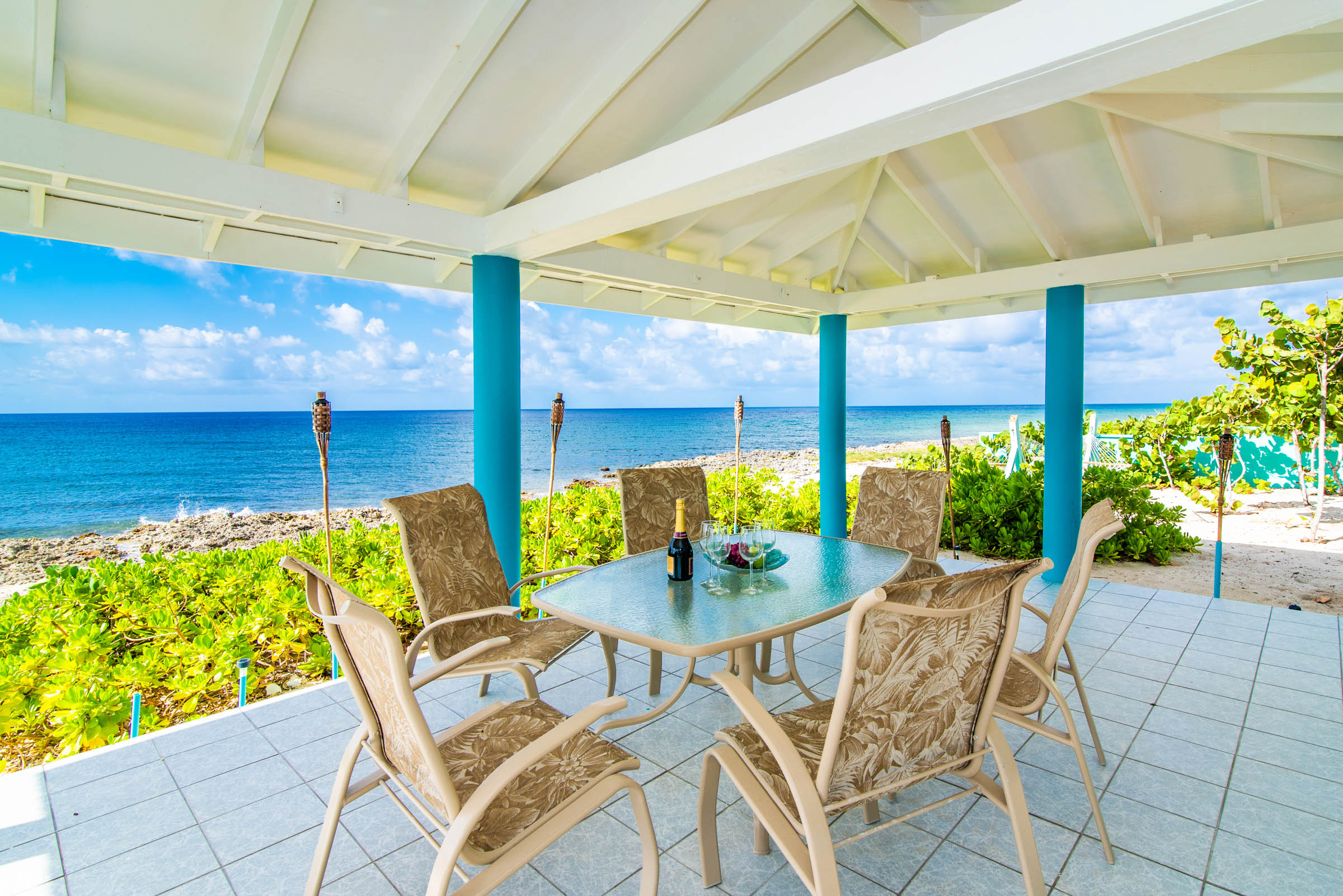 Blue Vista Oceanfront Gazebo