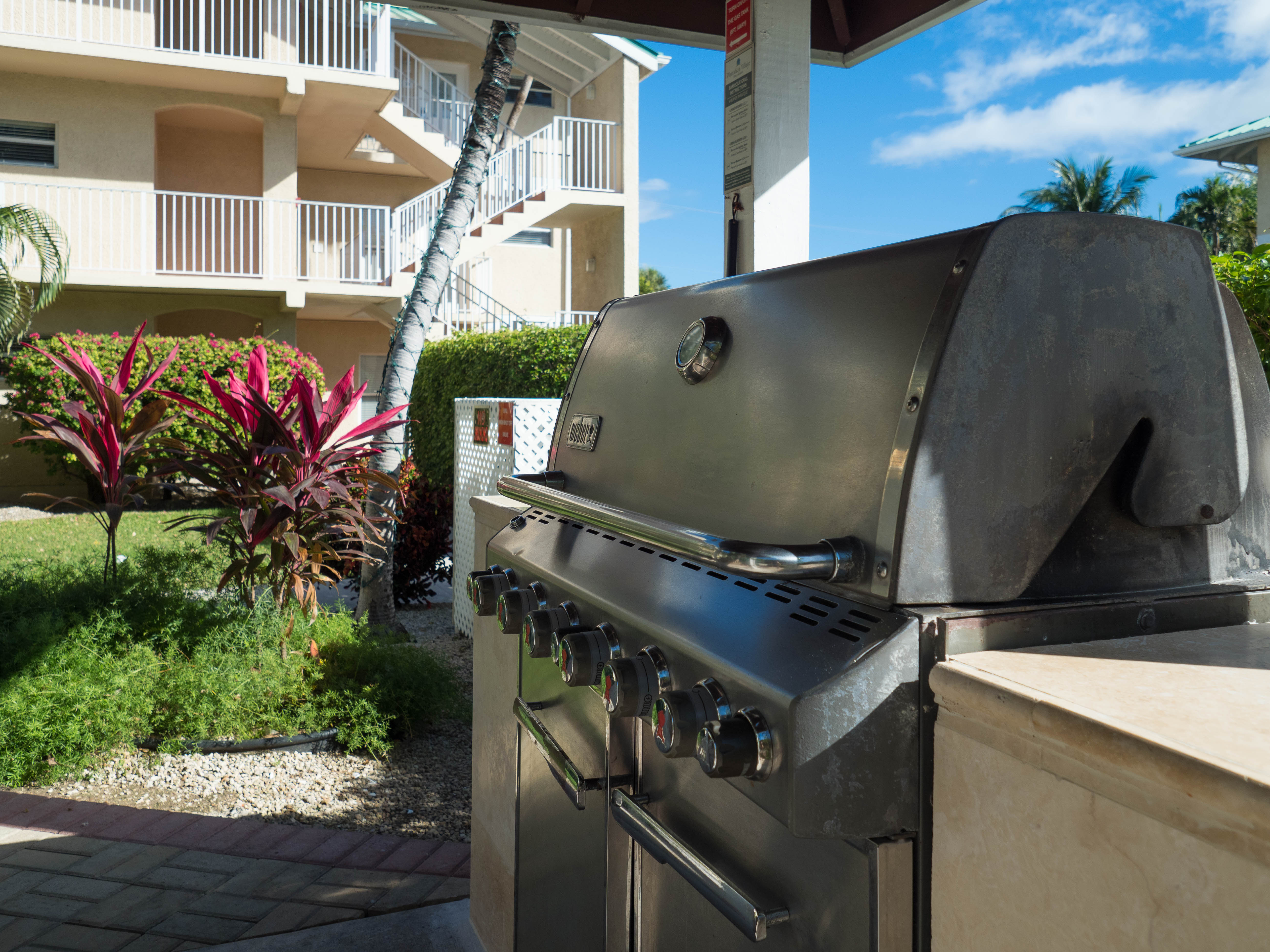 Plantation Village Weber Gas BBQ Grills