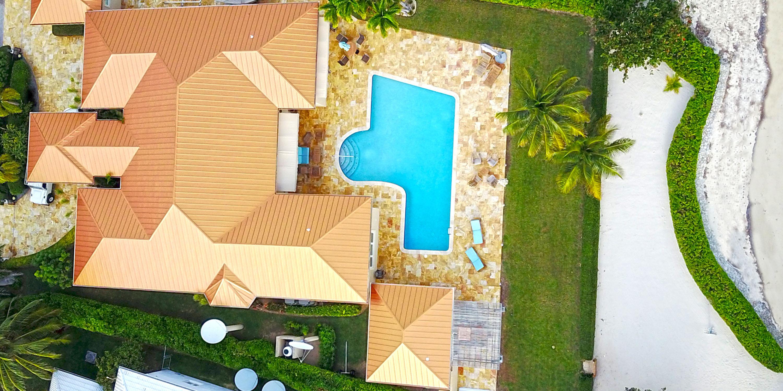 Faroway Villa Aerial View