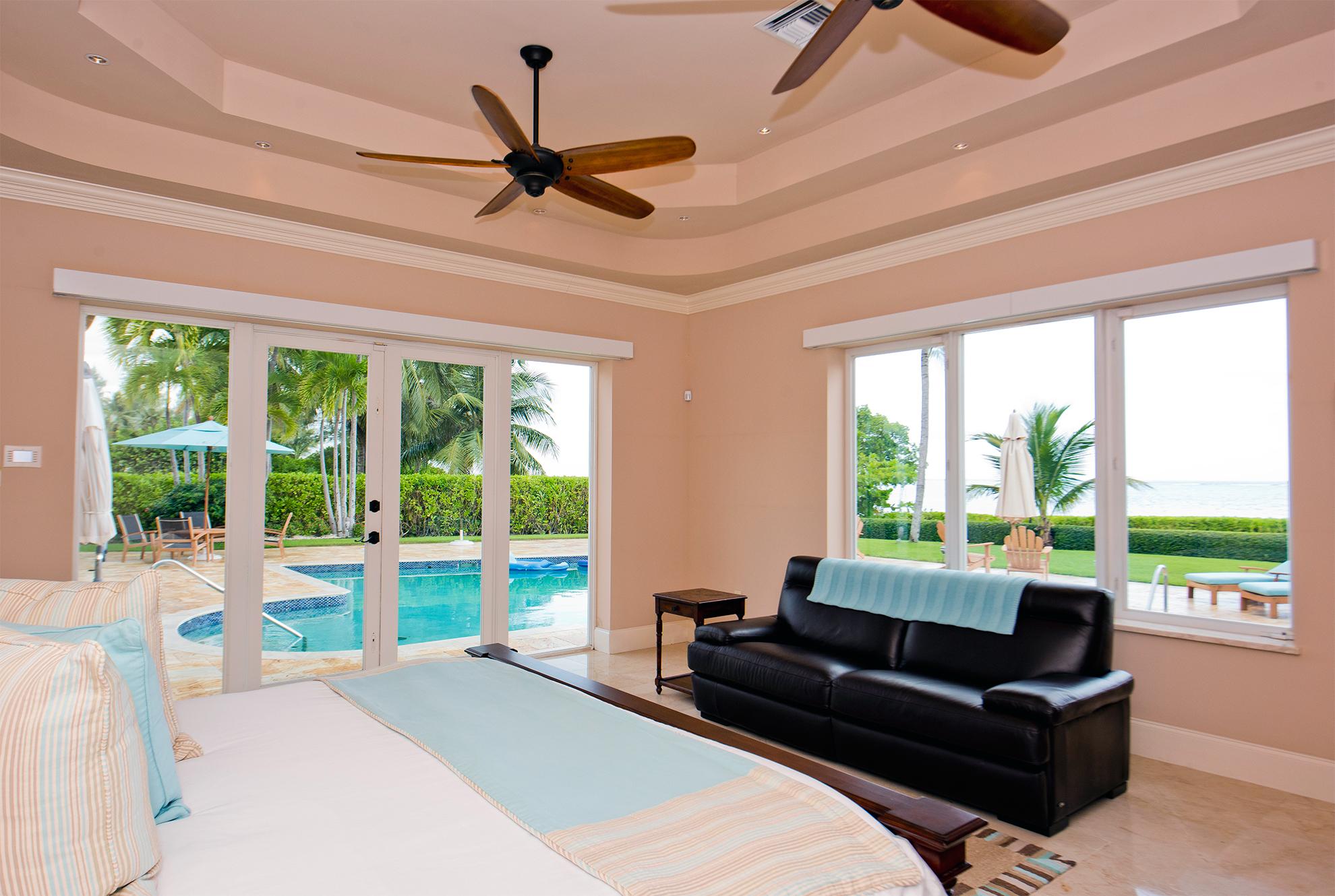 Faroway Oceanfront Master Bedroom
