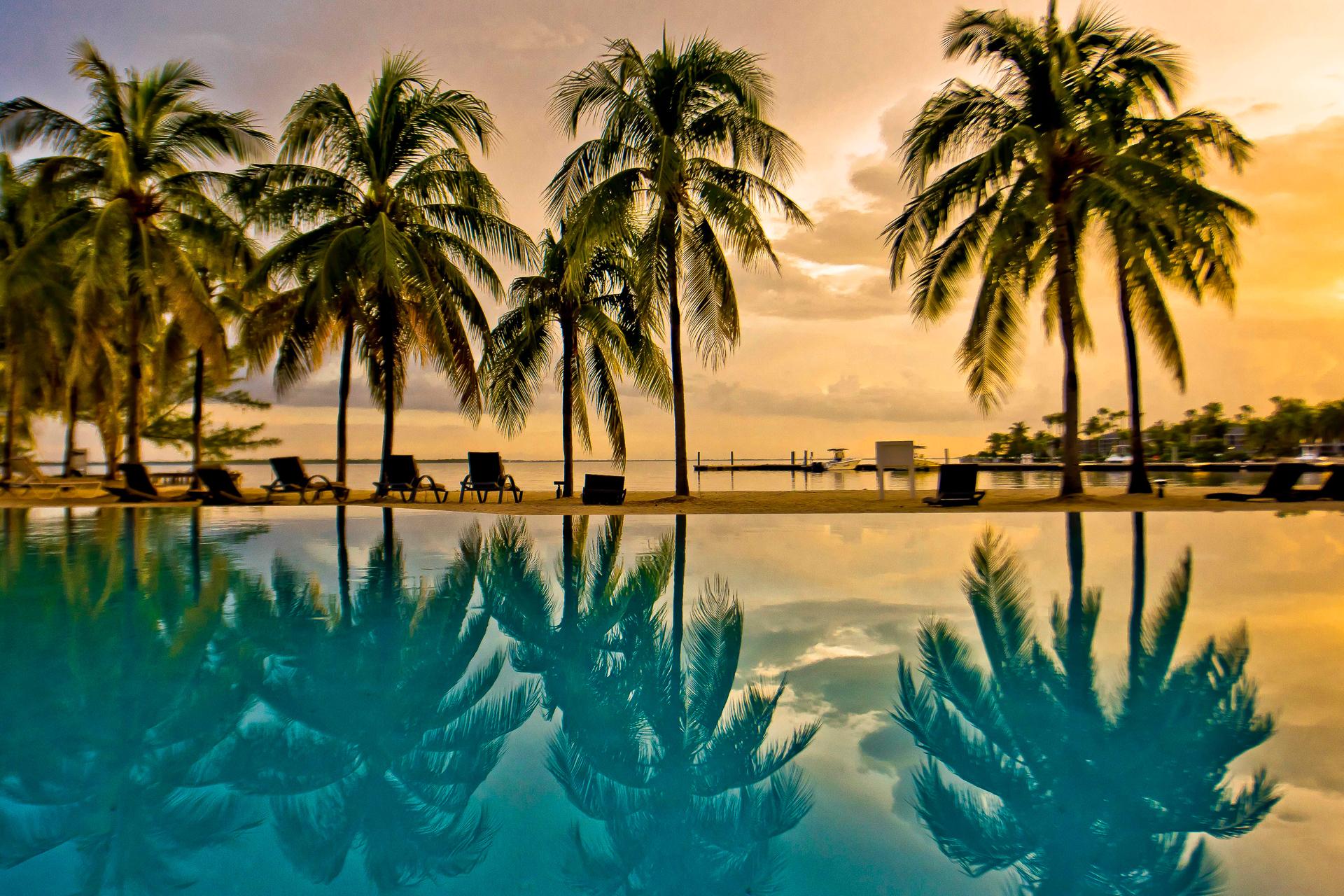Island House Sunset