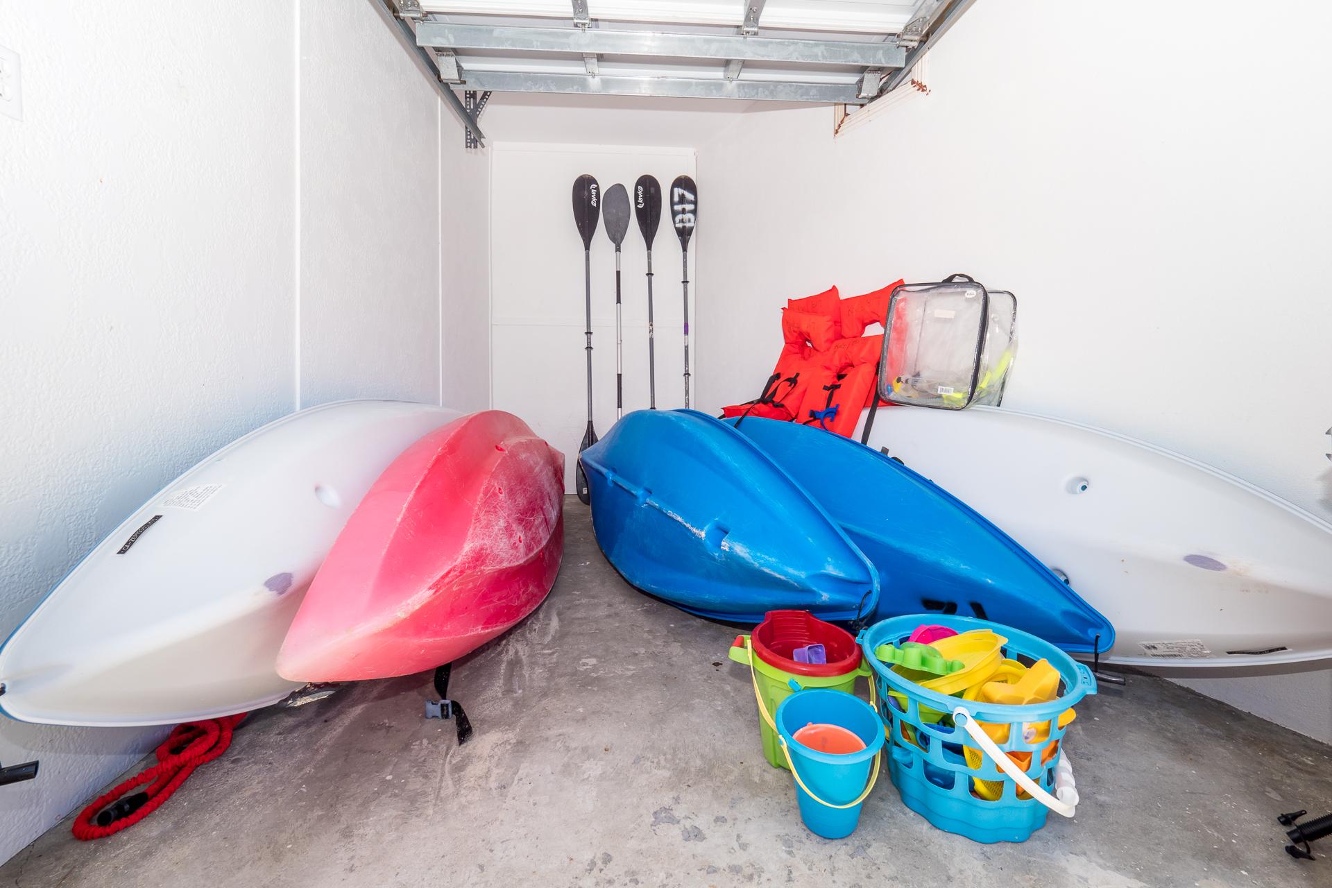 Kaibo Sunset Complimentary Kayaks