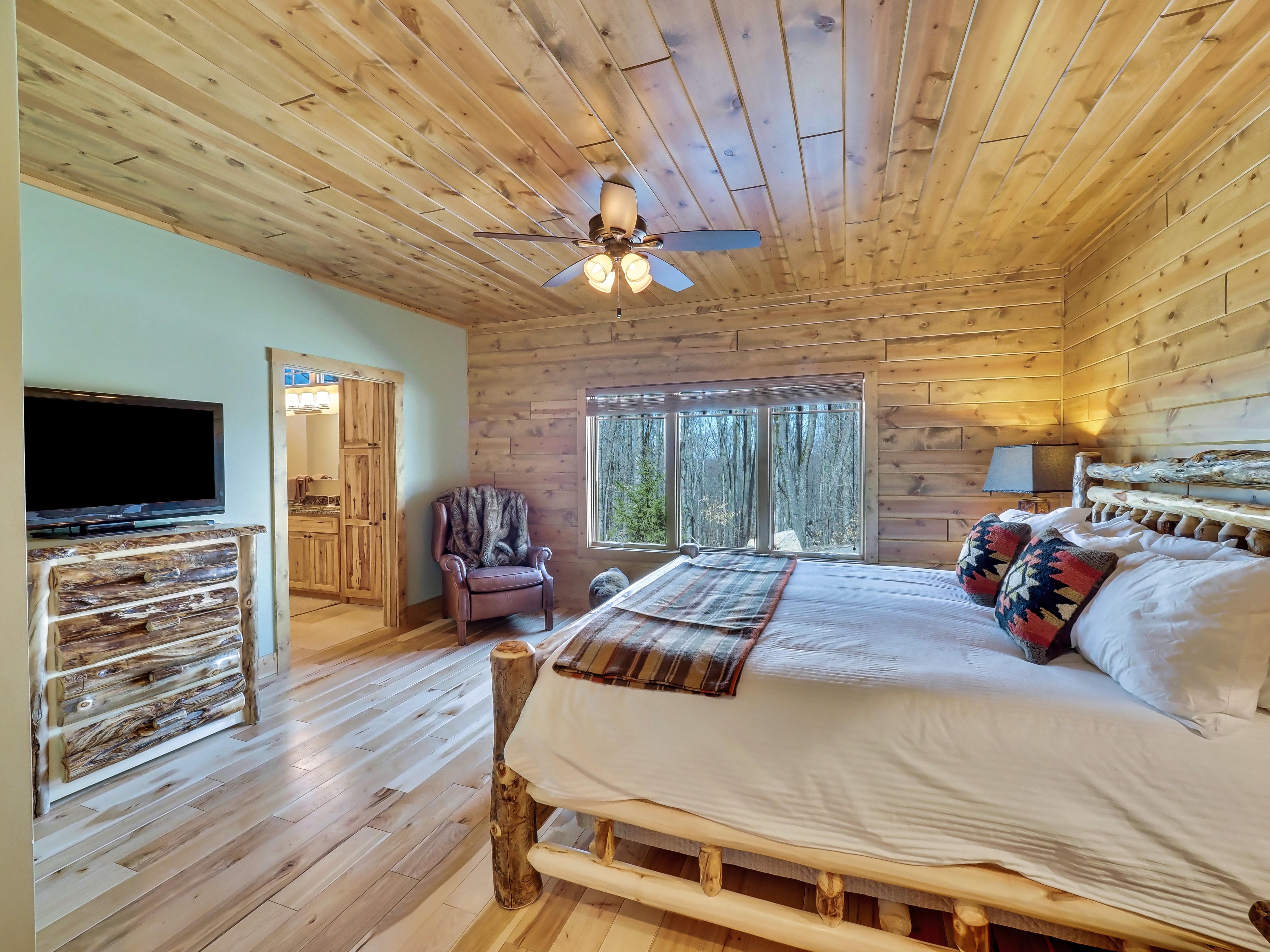 Main Floor Master Bedroom 1